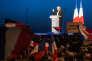 Marine Le Penau Parc des expositions de Villepinte, le 1er mai.