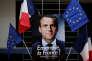 «Tout l'enjeu du solidarisme d'hier et d'aujourd'hui est de passer d'une association de fait, qu'il est déjà essentiel de rappeler, aux conditions d'une association de droit» (Photo: affiche électorale d'Emmanuel Macron, le 2 mai à Paris).