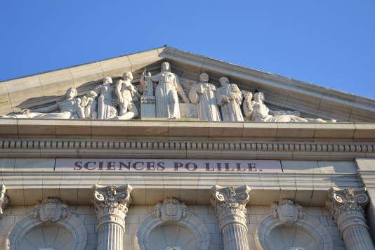 Les nouveaux locaux de Sciences Po Lille inaugurés le 21 mars 2017.