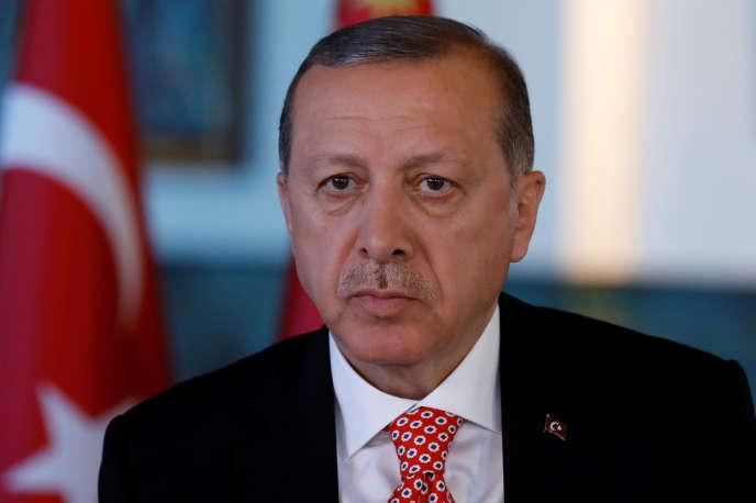 Reccep Tayyip Erdogan à Ankara, le 25 avril.