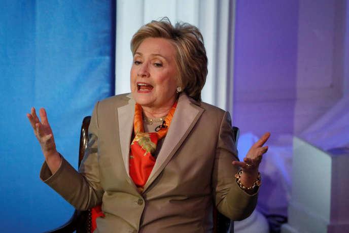 L'ancienne candidate démocrate à la présidentielle, Hillary Clinton, mardi2 mai à New York.