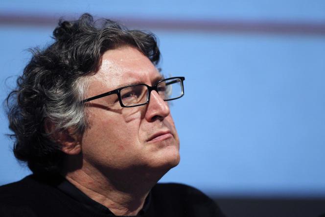 Michel Onfray, à Hérouville-Saint-Clair (Calvados), en 2010.