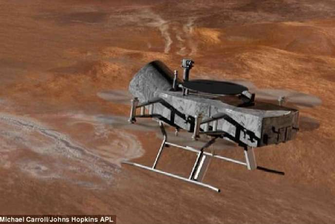 Dragonfly, le drone de l'espace, serait doté de quatre fois deux hélices.