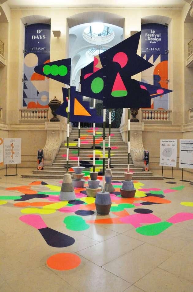 Au Musée des arts décoratifs.
