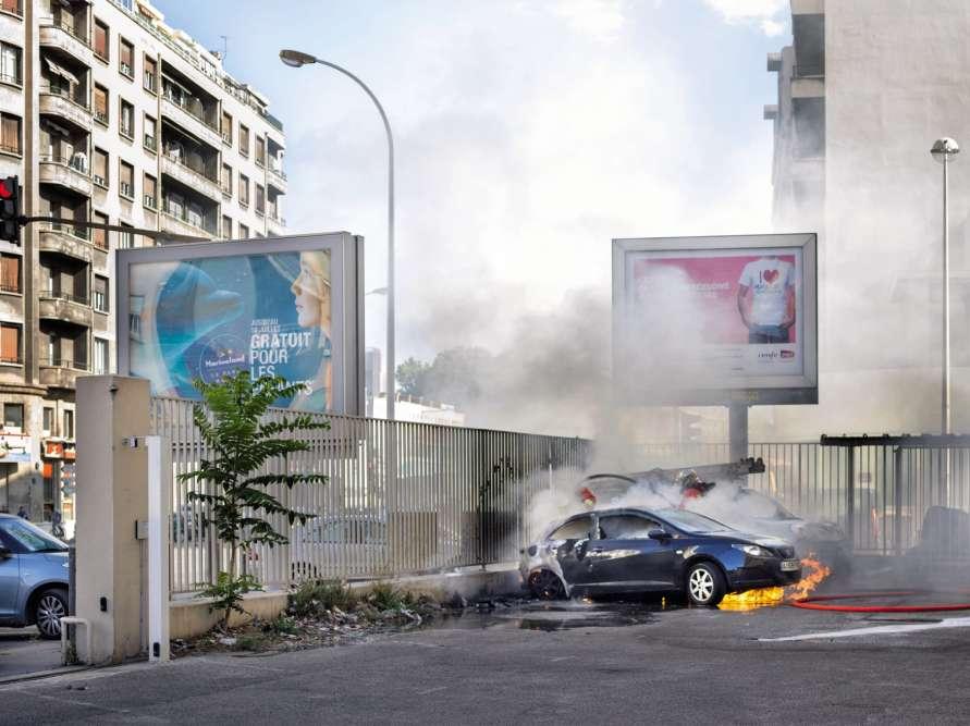 Incidentd'après-midi, Marseille, 2016.