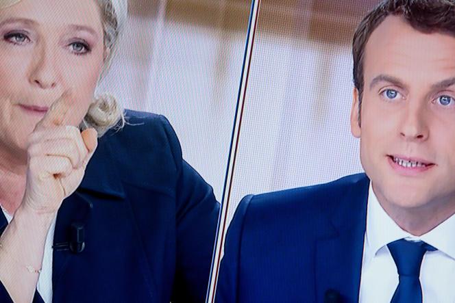 Marine Le Pen a relayé, pendant le débat télévisé d'entre deux tours du 3mai, une rumeur selon laquelle Emmanuel Macron posséderait un compte aux Bahamas.