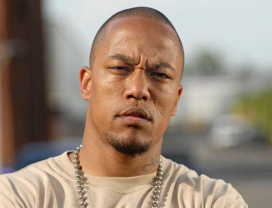 Denis Cuspert en 2005, avant sa conversion à l'islam, alors qu'il se faisait encore appeler«Deso Dogg» et cherchait à percer dans le rap.