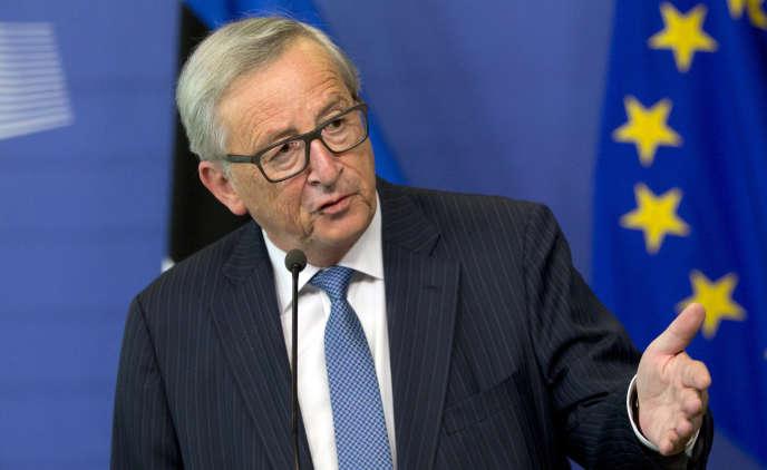 Jean-Claude Juncker, le 3 mai à Bruxelles.