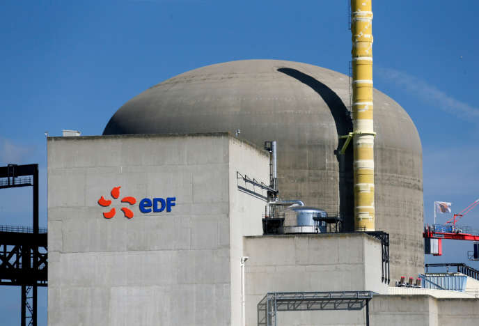 La centrale nucléaire de Saint-Alban, en Isère.