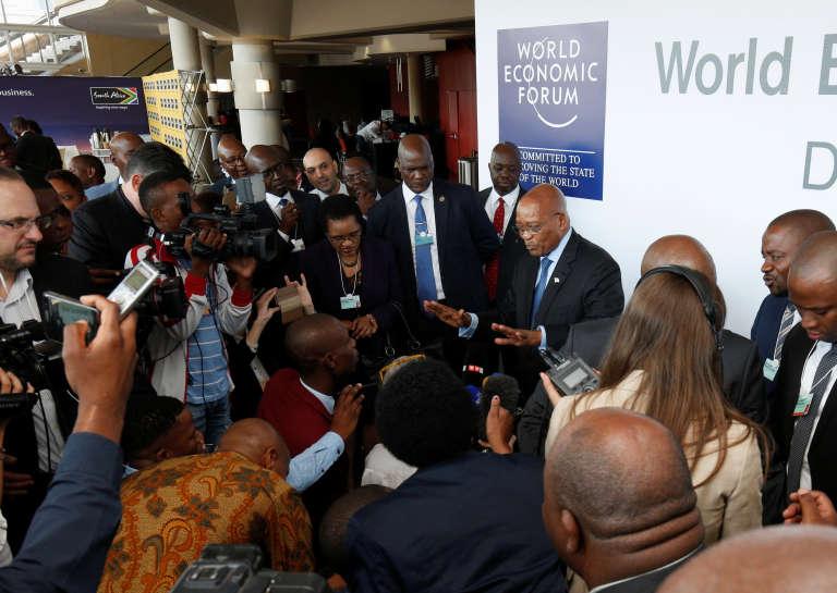 Le président sud-africain Jacob Zuma, le 3 mai à Durban.
