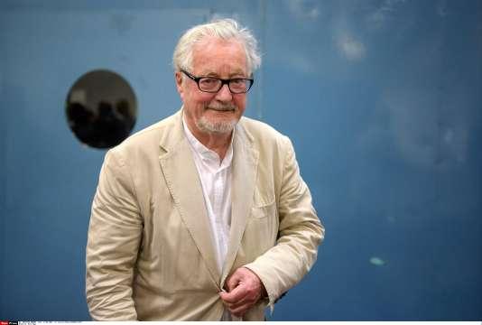 Marc Augé anthropologue, à lafoire internationale du livre de Turin en italie, le 16 mai 2016.