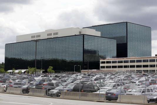 Le siège de la National Security Agency (NSA),à Fort Meade, dans le Maryland, en 2013.