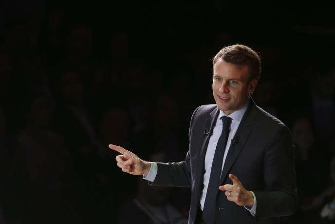 Emmanuel Macron, à Londres, le 21 février.
