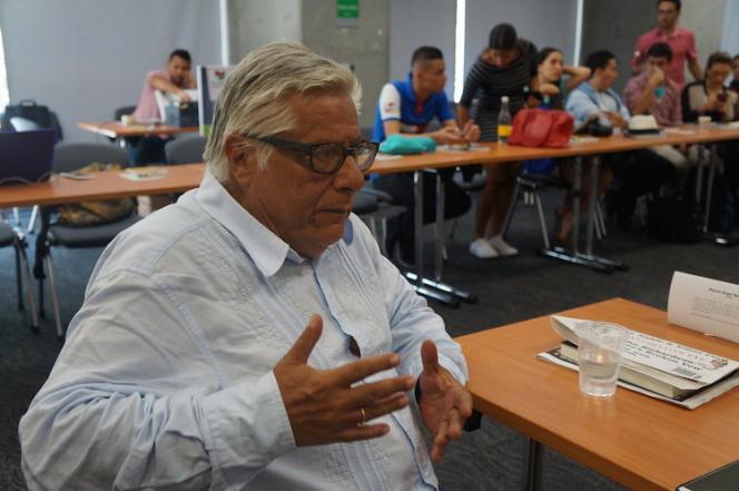 Miguel Angel Bastenier, en septembre 2015