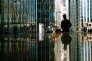 Canary Wharf à Londres : la finance représente presque un cinquième de l'économie londonienne et emploie directement 750000personnes.