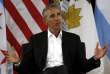 L'ancien président américain Barack Obama, le 3 mai à Chicago.