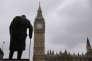 «Les plus âgés des expatriés s'inquiètent, quant à eux, pour leurs futures retraites» (Photo: Big Ben et statue de Winston Churchill, à Londres, le 3 mai).