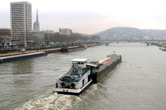 A Rouen, en 2005.