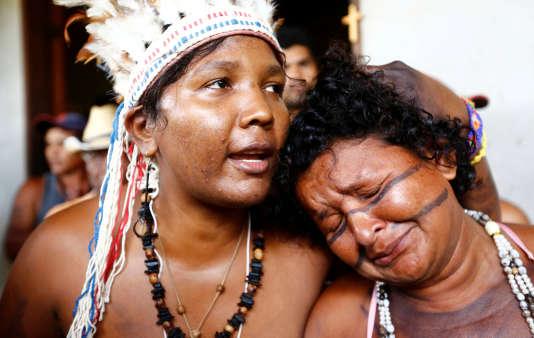 Les indiens de la tribu Gamela affirment que les terres qu'ils occupent aujourd'hui leur ont été promises à l'époque coloniale.