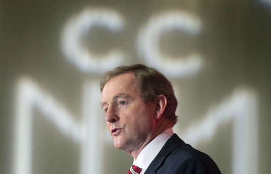 Le premier ministre irlandais, Enda Kenny, lors d'un déplacement à Montréal, au Canada, le 4mai.