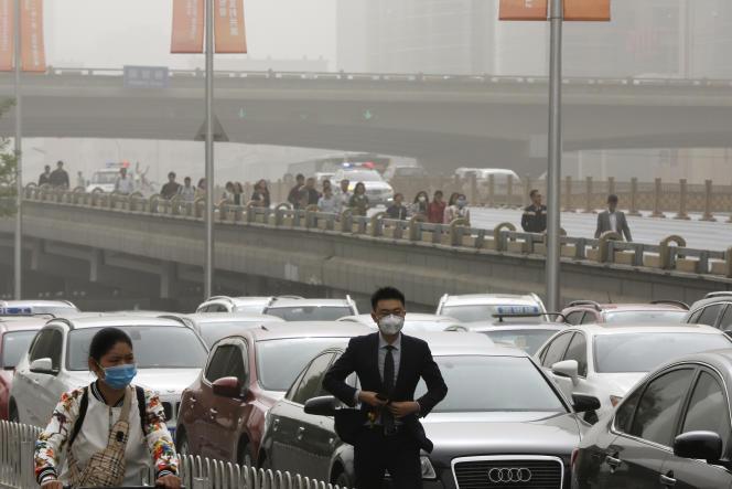 A Pékin le 4 mai.