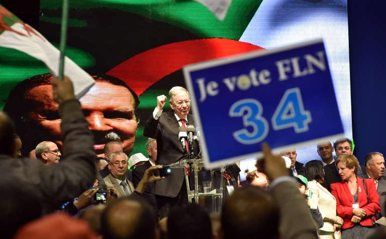 Djamel Ould Abbes, le secrétaire général du FLN, le 28 avril à Alger.