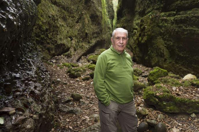 Michel Siffre est le pionnier des expériences de confinement souterrain.