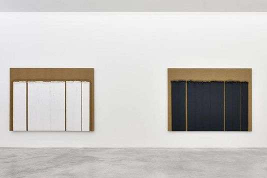 Ha Chong-Hyun à la galerie Almine Rech à Paris.