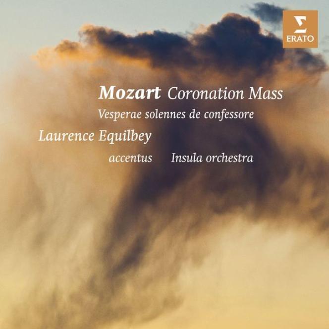 Pochette de l'album consacré à Mozart par Laurence Equilbey.