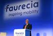 Patrick Koller, le directeur général de Faurecia, lors de la présentation des résultats du groupe, le 9 février, à Paris.