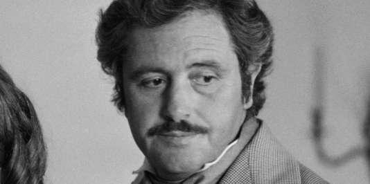 Victor Lanoux, le 19 juillet 1983.