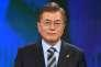Moon Jae-in, le candidat du Parti démocrate à l'élection présidentielle sud-coréenne.