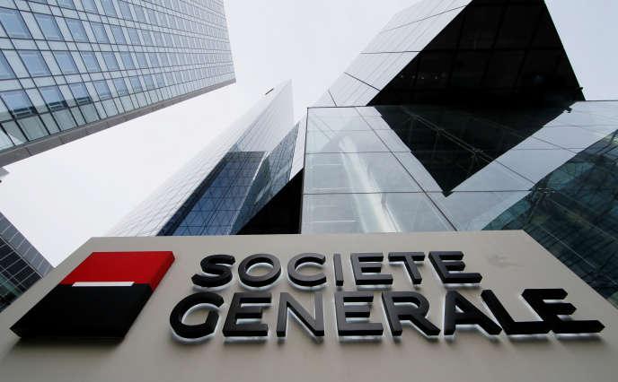Le siège de la Société générale, dans le quartier de La Défense, à Courbevoie.