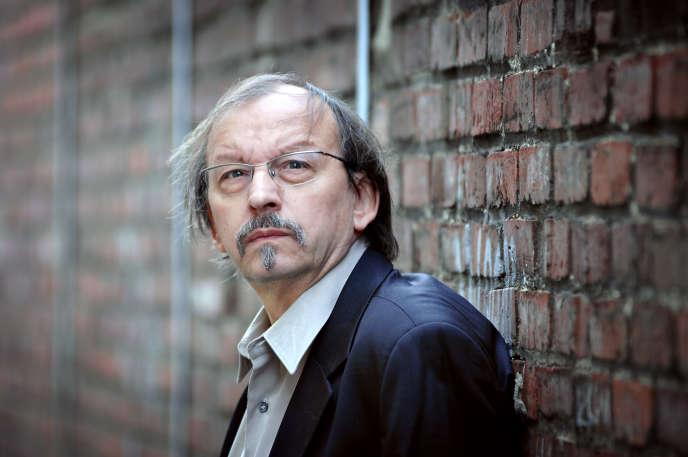 L'écrivain français Didier Daeninckx , en 2007.