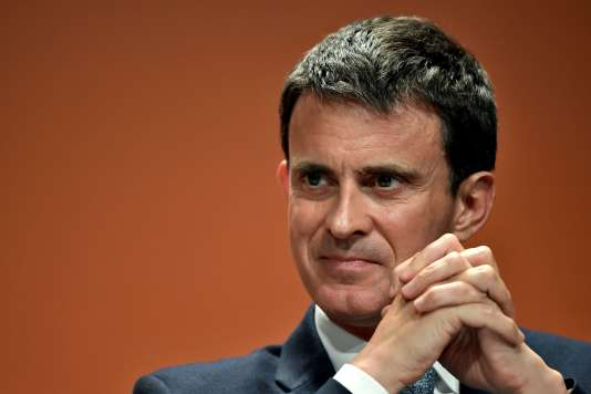 Manuel Valls, le 5 mai 2017, à Paris.