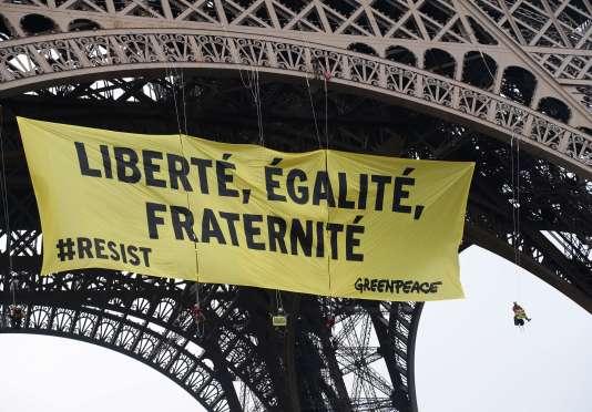 Greenpeace estime devoir s'opposer à la «résurgence des nationalismes».