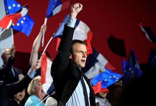 «L'exécutif français s'apprête à désigner une très large partie des membres de l'Assemblée législative» (Photo: Emmanuel Macron le 26 avril à Arras).