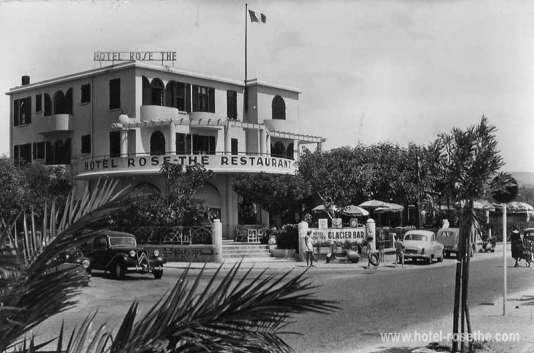 Cet hôtel de charme a été construit derrière la plage de La Ciotat en 1930.