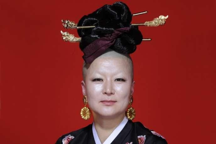 La chorégraphe Eun-Me Ahn (visuel du spectacle«Dancing Grandmothers»).