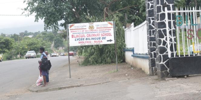 Les élèves anglophones ont déserté le lycée bilingue de Buéa, dans la région du Sud-Ouest.