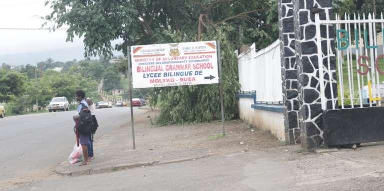 Les élèves anglophones ont déserté le lycée bilingue de Buea, dans la région du Sud-Ouest.