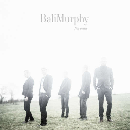 Pochette du nouvel album de BaliMurphy,« Nos voiles».