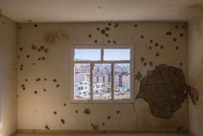 La ville kurde de Sirnak (sud-est de la Turquie), ici le 24 février, a été en partie rasée par les combats entre l'armée turque et le PKK