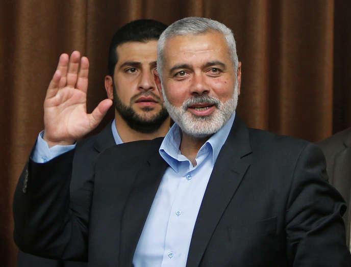 Ismaïl Haniyeh à Gaza, le 2 juin 2014.