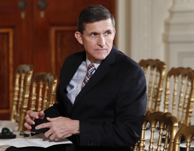 Michael Flynn à la Maison Blanche, le 10 février à Washington.