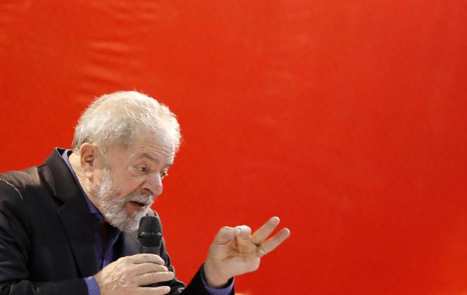 Luiz Inacio Lula da Silva, le 5 mai.