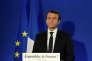 Emmanuel Macron, le 7 mai à Paris, après l'annonce de savoctoire à la présidentielle.