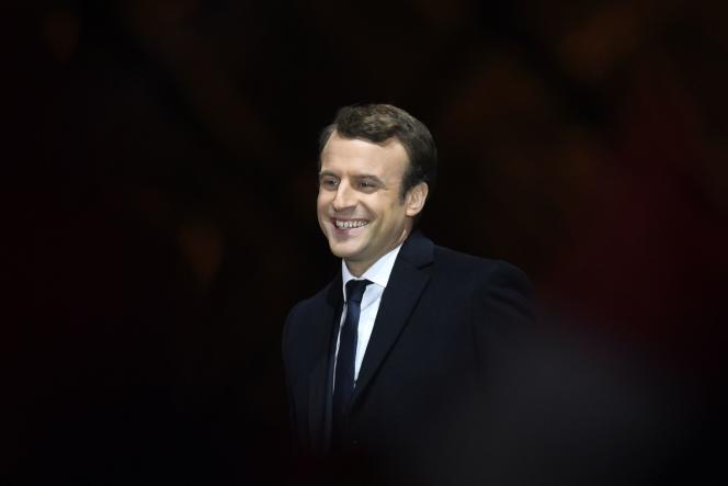 Emmanuel Macron, à Paris, le 7 mai.
