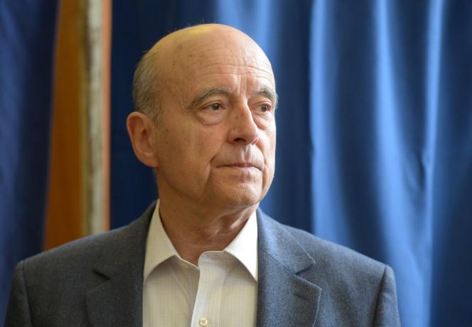 Alain Juppé à Bordeaux le 7 mai.