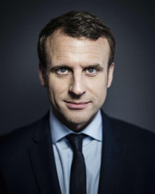 Emmanuel Macron, vendredi 31mars, à son siège de campagne à Paris.
